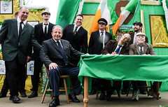 This is probably not how 1916 went--the Haverford Irish