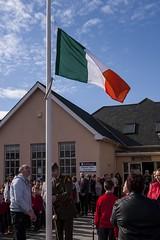 gc366day75 (leppre) Tags: ireland irish flags tricolour donegal 1916 inishowen buncrana irisharmy project366 gc366day75 ltdonmagee readingoftheproclamation
