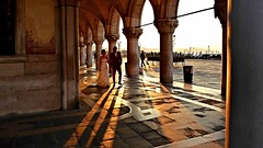pre-wedding photo call @ Piazza San Marco, Venezia (jjamv) Tags: city venice wedding sunset italy panorama building water skyline architecture sunrise river veneza landscape boats photography pier boat canal italia shadows waterfront alba outdoor ombre unescoworldheritagesite unesco ponte panasonic riverbed gondola palazzo venise venecia venezia venedig unescoworldheritage palaces grandcanal rialto waterway gondolas dogespalace vessels worldheritage watercourse piazzasanmarco stmarkssquare palazzi barges gondole veneto 威尼斯 canalgrande 2016 weddingphotography travelphotography zecca dogana vaporetti 베니스 launches ונציה canalazzo jjamv julesvtravel panasonicdmctz70 dmctz70