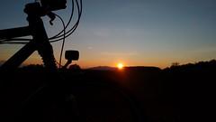 sunset hinterm Haunsberg (twinni) Tags: salzburg bike austria österreich bm cannondale biketour müller busch bumm wallersee rohloff fiftyfifty flachgau iqx mw1504 16032016