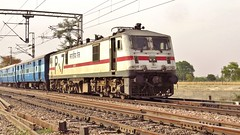 Goa Express (Ankur) Tags: canon photography indian goa powershot express railways mathura vrindavan railfanning