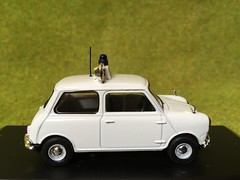 Atlas Editors - Best of British Police Cars - Austin Mini - Royal Ulster Constabulary - Northern Ireland- 1/43 Scale - Miniature Die Cast Metal Scale Model Emergency Services Vehicle (firehouse.ie) Tags: ireland car cops royal police mini cop policecar vehicle ni morris northern polizei troubles patrol policia ulster ruc peelers constabulary psni sixcounties nornireland