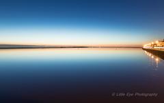West Kirby Marine Lake (Roger Ellison) Tags: blue still westkirby afterglow
