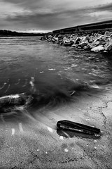 10348 (BobHenry052413) Tags: morning blackandwhite texture nature monochrome lines sunrise dawn landscapes gloomy unitedstates cloudy scenic overcast rivers northamerica arkansas streams naturalworld sunup creeks daybreak waterscapes