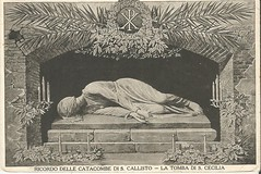 La Tomba Di S. Cecilia (912greens) Tags: italy rome saints churches martyrs catacombs sculptures tombs