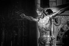 Alone in the dark (PrincipeShin) Tags: christ jesus cristo crucifixion jesucristo