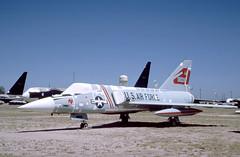 F-106A AMARC (Rob Schleiffert) Tags: usaf davismonthan amarc f106 deltadart