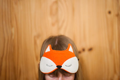 Day 26, Year 9. (evilibby) Tags: libby 365 eyemask sleepmask 365days 3659 foxmask 365days9 foxeyemask