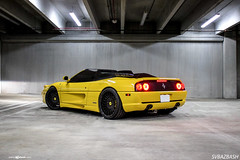 ferrari-f355-spider-m540-matte-black-4 (AvantGardeWheels) Tags: black wheel yellow design spider wheels ferrari ag finish designs custom aggressive rim rims lowered avant garde matte offset finishing stance avantgarde f355 20inch bespoke fitment m540 agwheels