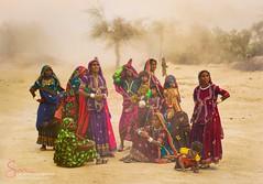 Waiting in Storm (S.M.Rafiq) Tags: pakistan classic beauty asian women waiting asia dress culture historical colourful charming hindu yatra cultural wome balochistan hingol yatri baluchistan stoem pakista smrafiq hinglaj concordians nanimandir nanitemple hinglajmata hinglajyatra hingorriver