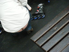 DSCF3007 (sqfan07) Tags: jeans buttcrack milf asscrack