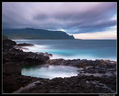 2015-11-25_075[web] (aFeinPhoto (Aaron Feinberg)) Tags: longexposure sunrise hawaii bath queens kauai feinberg princeville queensbath
