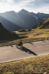 Alpine bike adventure. (rawmeyn | Filmmaker & Photographer) Tags: salzburg austria carinthia mountainpass hochalpenstrasse grosglockner highalpineroad hochalpenstrase grosglocknerhochalpenstrase