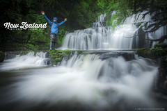 Purakaunui Memories (Rasdi Abdul Rahman) Tags: autumn newzealand waterfalls purakaunuiwaterfall