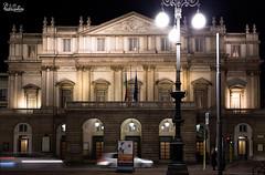 Teatro alla Scala [Explore 02/02/16] (Astarotte73) Tags: teatroallascala milano milan notturno musica lirica opera teatrale theater bynight piermarini neoclassico neclassical piazzadellascala cultura culture sigma35mmf14art italia italy