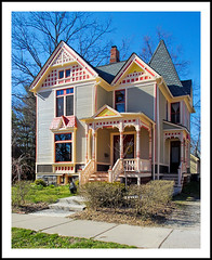 Beautifully Restored in Ypsilanti's Depot Town (sjb4photos) Tags: house michigan ypsilanti victorianhouse washtenawcounty