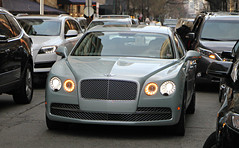Bentley Flying Spur W12 (SPV Automotive) Tags: green sports car sedan spur flying exotic bentley w12