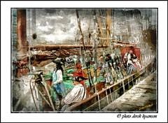 PIRATES (impression) (Derek Hyamson) Tags: liverpool candid pirates impression hdr albertdock