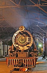 Real Steam in Pakistan in the 21st Century. YD 518 2-8-2 (Vulcan Foundry #4401 of 1929), on shed at Mirpur Khas. (wrecksandrelics) Tags: stuart steam kerr steamlocomotive mirpurkhas 282 vulcanfoundry nightphotoshoot metregauge ydclass steaminpakistan
