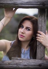 *OcchiBelli* (Alessandra Flor) Tags: portrait people green nature eyes occhi sguardo glance ritratto viso