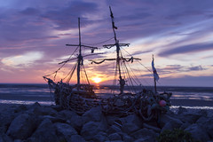 The Grace Darling Pirate Ship (published in wirral globe 27.3.16) (N-woods) Tags: gracedarling pirateship hoylake