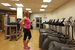 Where is Everyone? (Bree Wagner) Tags: transgender workout gym tg genderfluid
