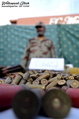 Ammunition recovered from Pak-Afghan border (watanpaal Photography) Tags: pakistan ammunition quetta balochistan pakafghanborder pakafghan ammunitionrecovered fcforces