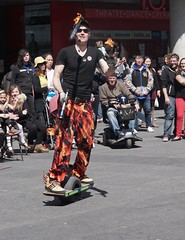 DSC04010 (Moodycamera Photography) Tags: street toronto ontario set movie square downtown sony busker yonge juggler dundas strain a6000