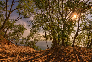 Sleeping Bear Dunes Sunset