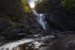 Getting lost (yoshy!) Tags: trees sun mountains nature water forest river relax landscape lost outdoors switzerland tessin waterfall ticino rocks glow swiss adventure explore exploration chill ch sunstar atmospheremood