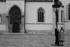 sposi ben (brendagiannello) Tags: blackandwhite stilllife architecture croatia zagreb oldwomen inlove flickrlove urbanlife lanscapes urbanstreet urbanstyle