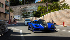 Masterpiece. (Vmgt2 Automotive Photography) Tags: blue sun canon eos monaco ctedazur f28 supercar koenigsegg supercars 1755 frenchriviera 2016 one1 60d hypercars agera vmgt2 oneto1 koenigseggone1