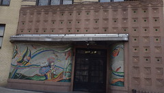 Fish Building Grand Concourse, Bronx - IMGP3922 (catchesthelight) Tags: nyc 1920s architecture buildings 1930s mural apartments bronx 1940s artdeco deco artmoderne architecturaldetails grandconcourse fishbuilding