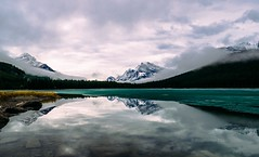 Waterfowl Lake (Francesco Patroncini Photography) Tags: lake canada mountains reflections nationalpark nikon jasper lakes alberta banff waterfowl icefield icefieldparkway nikond5300