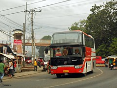 Rural Tours 2829 (Monkey D. Luffy 2) Tags: road city bus public photography photo coach nikon philippines transport vehicles transportation coolpix vehicle society davao coaches philippine enthusiasts kinglong yuchai philbes longwei xmq6129y5