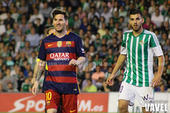 Betis - Barcelona 082 (VAVEL Espaa (www.vavel.com)) Tags: fotos bara rbb fcb betis 2016 messi fotogaleria vavel futbolclubbarcelona primeradivision realbetisbalompie ligabbva betisvavel barcelonavavel fotosvavel daniceballos juanignaciolechuga