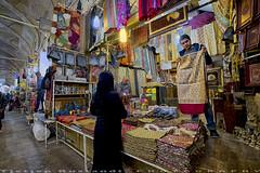 Scarves at Bazaar-e Vakil (T   J ) Tags: iran fujifilm shiraz xt1 teeje fujinon1024mmf4