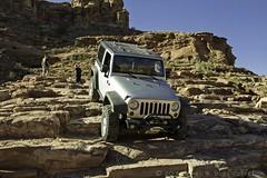 Heading Down (W9JIM) Tags: jeep 4wd explore moab w9jim offroading cliffhanger wrangler w9jeep