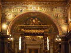 Triumphal arch, Basilica of Santa Maria Maggiore, Rome