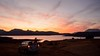 Sunset...painted by the God's Above (thearc31) Tags: sunset india lake roadtrip maharashtra nasik bhandardara