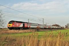 43320 Barcroft Level Crossing, Doncaster (DieselDude321) Tags: london coast crossing cross trains class east virgin kings level perth 43 doncaster hst barcroft 43320 1e13