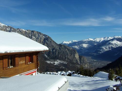 Découverte des environs d'Ovronnaz, dans le Valais Suisse