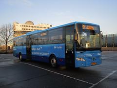 QBuzz QLiner bus 2605 Leeuwarden station (Arthur-A) Tags: bus netherlands buses mercedes nederland autobus friesland fryslan leeuwarden tourismo bussen integro qbuzz