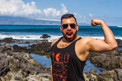 untitled-1763 (PortugePunk) Tags: travel friends vacation beach boyfriend mike hawaii us unitedstates maui moreno lahaina napili