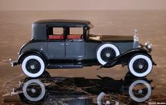 1/32nd scale 1928 Rolls Royce Phantom (Victor Medlin) Tags: rollsroyce phantom 1928 matchbox 132 modelcar blackdiamond