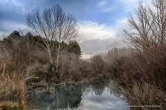"Nubes veloces sobre ""El Charco Azul"" II / Speedy clouds over ""The Blue Pond"" II  (Valdeganga, Albacete, Spain) (Antonio Lpez-Torres Snchez) Tags: longexposure espaa water clouds ro reflections river spain agua nubes nd reflejos haida albacete largaexposicin jcar neutraldensity tamronsp1735 valdeganga elcharcoazul densidadneutra canoneos5dmarkii thebluepond valdemembra libisosanorum"