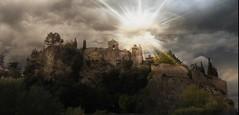 vaison la romaine (mary maa) Tags: soleil antique cit nuage vaucluse romaine vaison