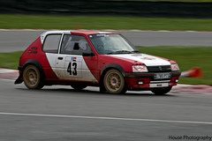 Peugeot 205 GTi Rally ({House} Photography) Tags: winter red white car gold rally ken automotive racing stages hatch gti panning peugeot brands 205 fawkham housephotography timothyhouse