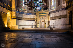 The Altar and the Mihrab of Hagia Sophia in Istanbul (Bernardo Ricci Armani PhotographingAround.Me) Tags: bernardoricciarmani hagiasophia islam ayasofia istanbul turkey indoor religion mosque santasofia architecture muslim altar httpphotographingaroundme leicasummilux28mmf17asph orthodoxchurch photographingaroundme leicaq mihrab cathedral