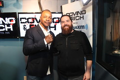 Carl Weathers with Covino & Rich (covinoandrich) Tags: show music celebrity television radio happy action satellite rich rocky jackson carl boxing interview apollo peterson colony gilmore chubbs creed weathers siriusxm covino